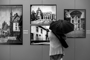 Exhibition In The Rain
